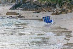 Asciugamani di spiaggia Fotografie Stock