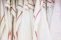 Asciugamani di tè Fotografia Stock