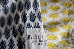 Asciugamani di tela Fotografia Stock