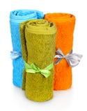 Asciugamani variopinti Immagini Stock