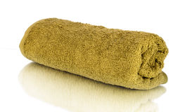 Asciugamano acciambellato Immagine Stock
