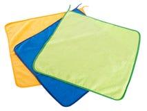 Asciugamano. Asciugamano di cucina su un fondo Fotografie Stock Libere da Diritti
