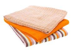 Asciugamano di cucina Immagini Stock