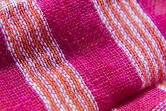 Asciugamano fatto a mano indiano del cutton immagini stock