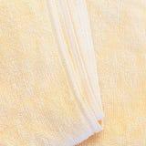 Asciugamano giallo Fotografia Stock Libera da Diritti