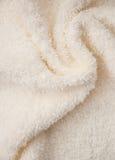 Asciugamano lanuginoso del bagno Fotografia Stock