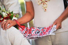 Asciugamano ucraino Immagine Stock