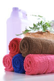 Asciugamano variopinto Fotografia Stock