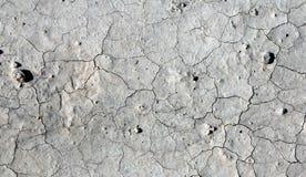 Asciughi la terra incrinata Fotografia Stock Libera da Diritti