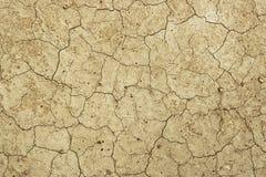 Asciughi la terra incrinata - deserto fotografie stock