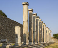 Asclepeion ancient city in Pergamon. Stock Photography