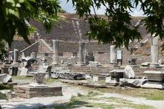 Asclepeion ancient city in Pergamon Stock Photos