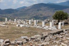 Asclepeion antyczny miasto w Pergamon Zdjęcie Stock