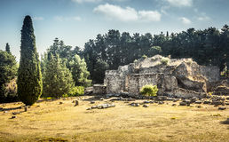 Asclepeion at Kos island, Greece Royalty Free Stock Photo