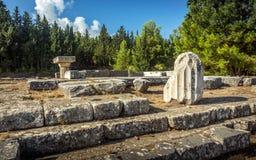 Asclepeion at Kos island, Greece Royalty Free Stock Image