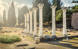 Asclepeion at Kos island, Greece Stock Images