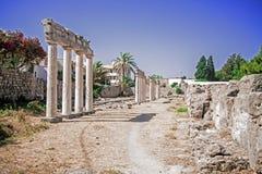 The Asclepieion - Ancient Kos, Greece Stock Image