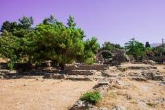 The Asclepieion - Ancient Kos, Greece Stock Photo