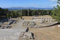 Asclepio at Kos island in Greece Stock Photo