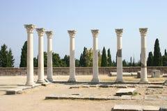 Asclepion, Hippokrates-Medizinische Fakultät, Kos, Griechenland Stockfotos