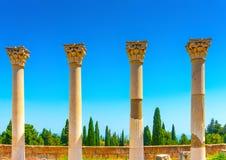 Asclepium em Kos imagem de stock