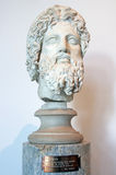 Asclepius. The god of medicine, Asclepius in Palatine Museum Stock Photography