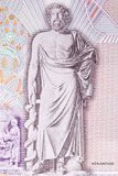 Asclepius, a portrait Stock Photography