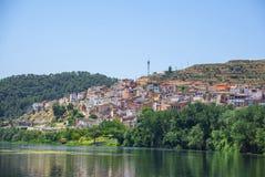 Asco,塔拉贡纳,西班牙 免版税库存照片