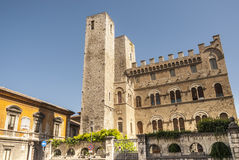 Ascoli Piceno - Ancient building Royalty Free Stock Photography