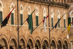 Ascoli Piceno - Ancient building Royalty Free Stock Photos