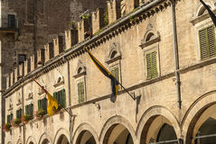 Ascoli Piceno - Ancient building Royalty Free Stock Images
