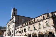 Ascoli Piceno (Italy): Piazza del Popolo Stock Photography
