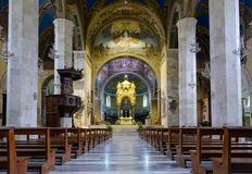 Ascoli Piceno - la catedral imagen de archivo libre de regalías