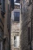 Ascoli Piceno Marches, Italy, historic buildings Royalty Free Stock Photo