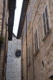 Ascoli Piceno Marches, Italy, historic buildings Royalty Free Stock Photos