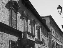 Ascoli Piceno Marches, Italy, historic buildings Stock Image