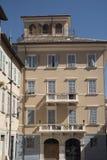 Ascoli Piceno marsze, Włochy, historyczni budynki Zdjęcia Stock