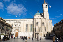 Ascoli Piceno medieval town in Italy Stock Image