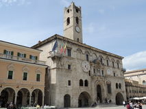 Ascoli Piceno - People's Square Stock Image