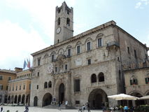 Ascoli Piceno - People's Square Royalty Free Stock Photos