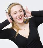 Ascolta i suoni Fotografia Stock Libera da Diritti