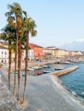 Ascona,瑞士 库存图片