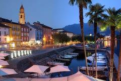 Ascona, Швейцария стоковая фотография rf