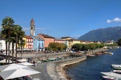 Ascona, Швейцария Стоковые Изображения RF