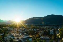 Ascona antena, Szwajcaria Zdjęcie Royalty Free