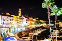 Ascona, die Schweiz Stockbild
