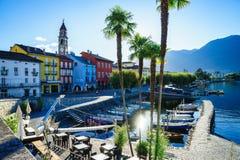 Ascona, die Schweiz Stockfotos