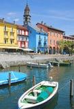 Ascona, lago Maggiore, Svizzera Fotografie Stock Libere da Diritti
