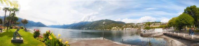 Ascona no Lago Maggiore Imagem de Stock Royalty Free