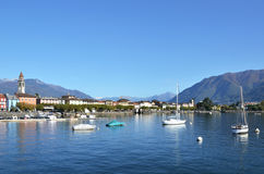 Ascona Schweiz Royaltyfri Bild